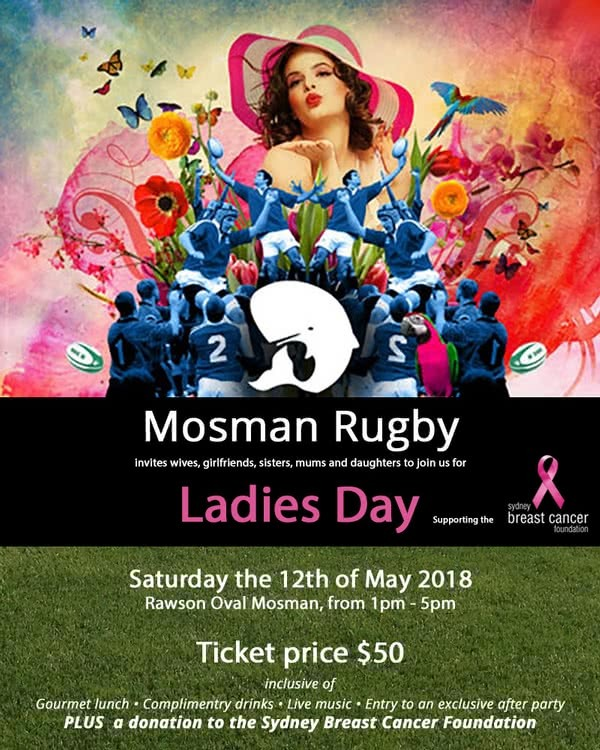 Mossman Rugby Ladies Day - Tickets on sale now!